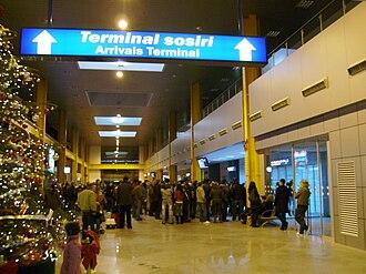 Cluj International Airport - Arrivals Terminal