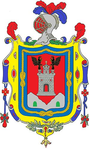 Real Audiencia of Quito - Image: Coat of Arms of Quito
