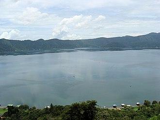 Coatepeque Caldera - Image: Coatepeque Lake