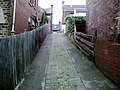 Cobbled alley, from Locke Avenue to Park Grove - geograph.org.uk - 472834.jpg