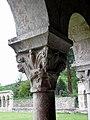 Codalet (66) Abbaye Saint-Michel de Cuxa Cloître Chapiteau 29.JPG