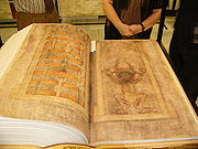 real-size facsimile of Codex Gigas