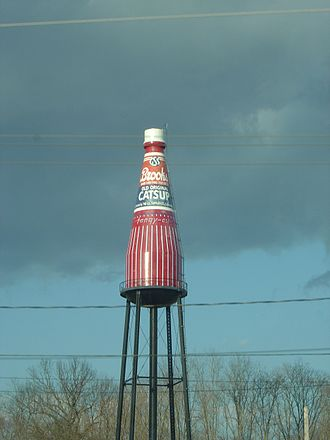 Collinsville, Illinois - The Brooks Catsup Bottle Water Tower, a water tower in Collinsville.