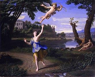 Nicolas Colombel - Cupid and Psyche