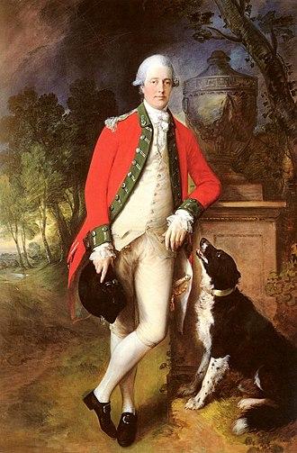 John Bullock (1731–1809) - Colonel John Bullock by Gainsborough