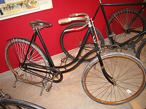 Pope Manufacturing Company - Columbia Model 41 Ladies Safety Bicycle, 1895