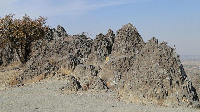 Description Of Basalt : File columnar basalt at dagushan yitong china g