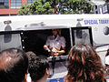 Comic-Con 2010 - Rocket Poppeteers truck (Super 8 viral campain) (4874439181).jpg