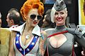 Comic Con 2013 - Lady Dare and Red Son Power Girl (9333198435).jpg