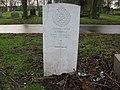 Commonwealth War Grave in Jarrow Cemetery (WW2-24) - geograph.org.uk - 1604908.jpg
