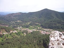 A general view of Le Martinet