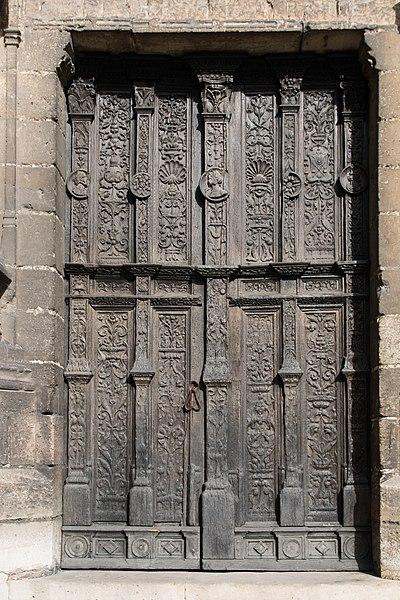 File Compi Gne Glise Saint Jacques Vantaux De Porte
