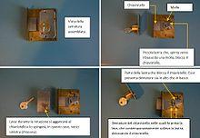 Chiave serratura wikipedia for Estrarre chiave rotta da cilindro