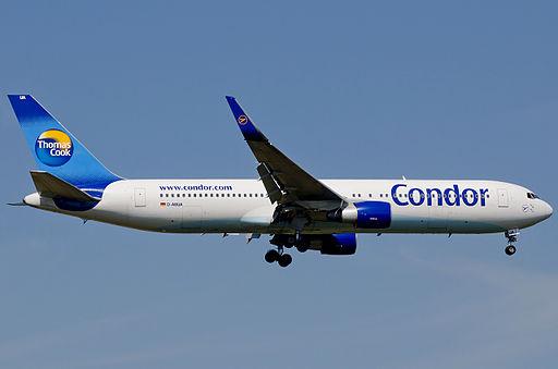 Condor B767 D-ABUA FRA 2011-09-01 01klein