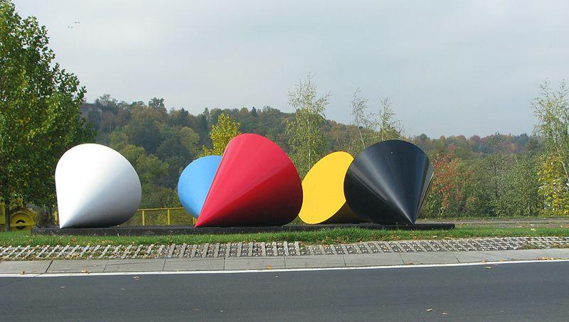 File:Cone Sculpture in Hünfeld 2.JPG