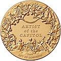 Congressional Gold Medal Constantino Brumidi (reverse).jpg