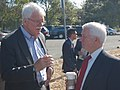 Congressman George Miller with Bill Grey, Transportation Consultant (4839591380).jpg
