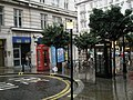 Contrasting phone boxes in Southampton Street - geograph.org.uk - 1023324.jpg