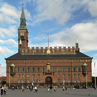 Copenhagen City Hall - Copenhagen City Hall is situated on City Hall Square