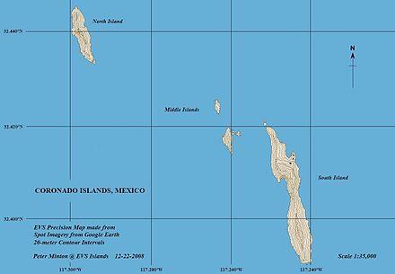 Coronado Islands - Wikipedia