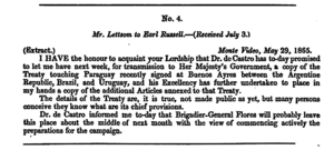 Treaty of the Triple Alliance - Parliamentary paper.  The British government obtained a copy of the Treaty and published it.