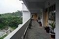 Corridor in Administrative building at University of Chittagong (01).jpg