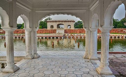 Corridor of Faiz Baksh terrace