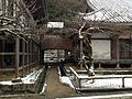 Corridor of Komyoji Temple in a snowy day 20150101.JPG