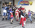 Cosplayers of The King of Fighters '98 at CWT T16 20160828b.jpg
