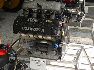 "1989 Indianapolis 500 - Cosworth DFS ""short stroke"" engine"