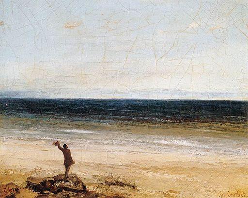 Courbet-Mer-à-Palavas-Fabre