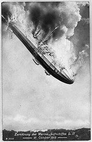 Крушение цеппелина L2, 1913