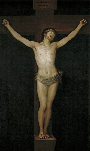 Christ Crucified (Goya) - Image: Cristo en la cruz (Goya)