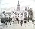 Croquis- Burgos - Espagne (8051122012).jpg