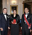 Crown Prince of Tonga and Crown Princess with the Duke of Castro.jpg