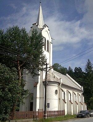 Ciucea - Image: Csucsa church 1