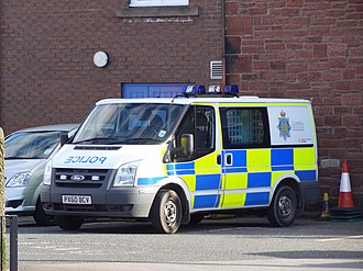 Cumbria Constabulary - Cumbria Constabulary Ford Transit
