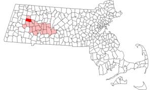 Cummington, Massachusetts - Image: Cummington ma highlight