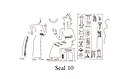 Cuneiform tablet impressed with cylinder seal. Receipt of goats,ca. 2040 B.C. Neo-Summerian (drawing).jpg