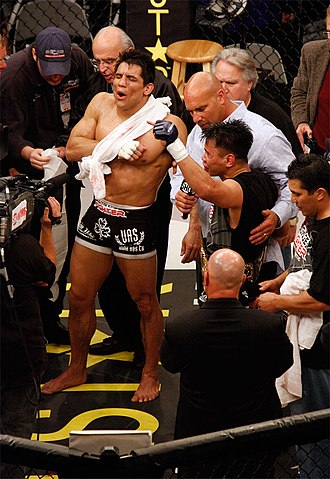 Frank Shamrock - Shamrock and Cung Le after their bout