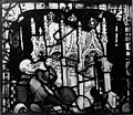 Curing from Shrine of St. William, glass panel, 1420. Wellcome M0005439.jpg