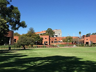 Curtin University - View of Curtin University Chancellery Building