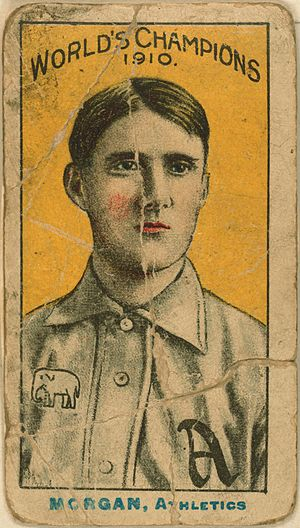 Cy Morgan - Image: Cy Morgan baseball card