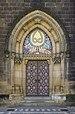 Czech-2013-Prague-Vyšehrad-Saints Peter and Paul (portal).jpg