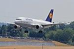 D-AILN A319 Lufthansa BHX 07-07-18 (42747814954).jpg