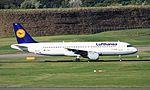 D-AIPH A320 Lufthansa BHX 29-09-2016 (29800515970).jpg