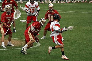 Denver Pioneers - Denver plays Maryland in this 2006 lacrosse game