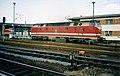 DB ex-DR U-Boot class diesel,219 109-6, Bahnbetriebswerk Wismar October 1994 - Flickr - sludgegulper.jpg