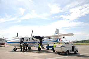 Aviastar (Indonesia) - Image: DHC 6 300 Aviastar