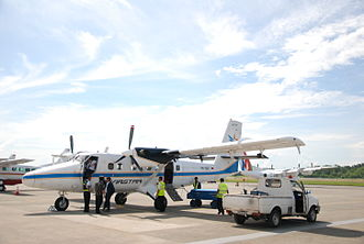 Aviastar (Indonesia) - Image: DHC 6 300 Aviastar